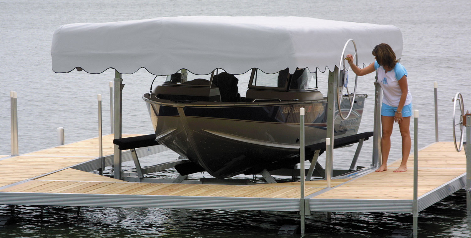 Sidewinder Boat Lift Motor All Boats